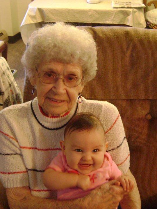 Lily and Grandma